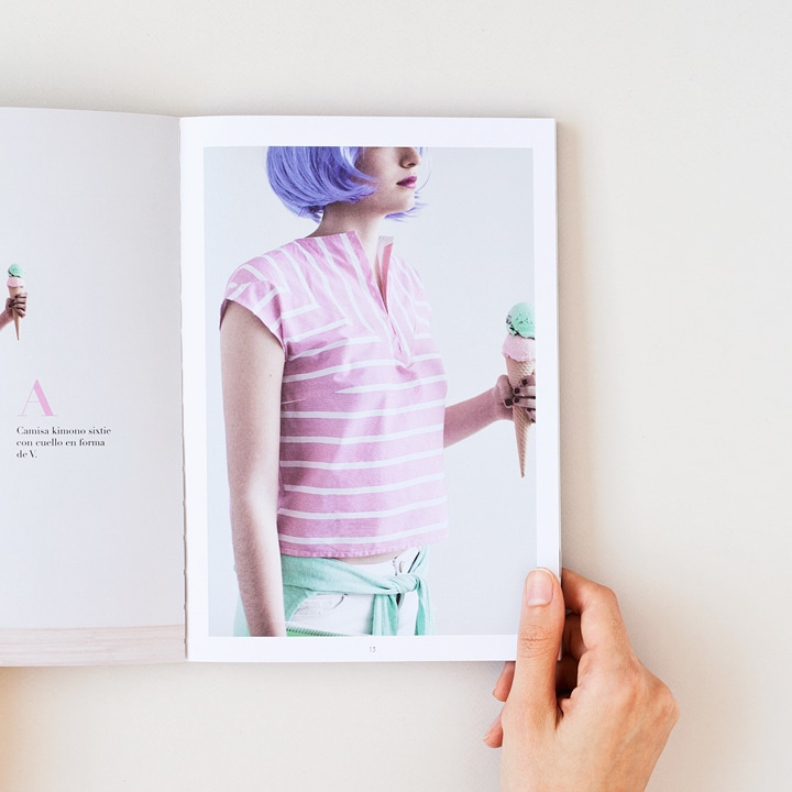 Fotografía de producto - Kimono style libro