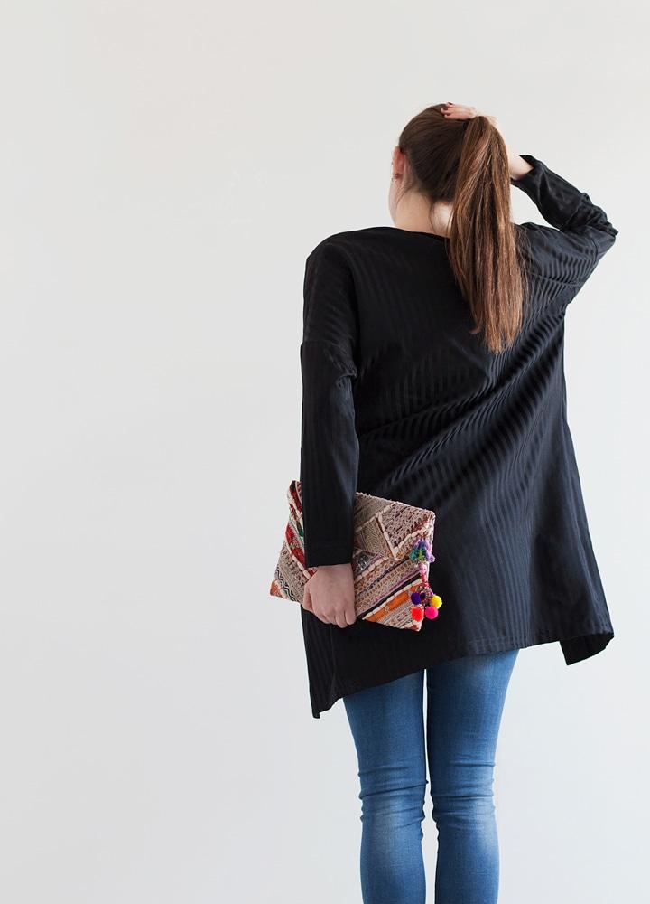 Fotografía editorial modelo - Kimono style