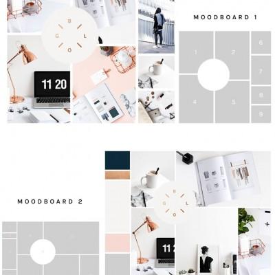 Moodboard templates